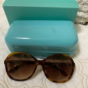 Tiffany & Co tortoise sunglasses